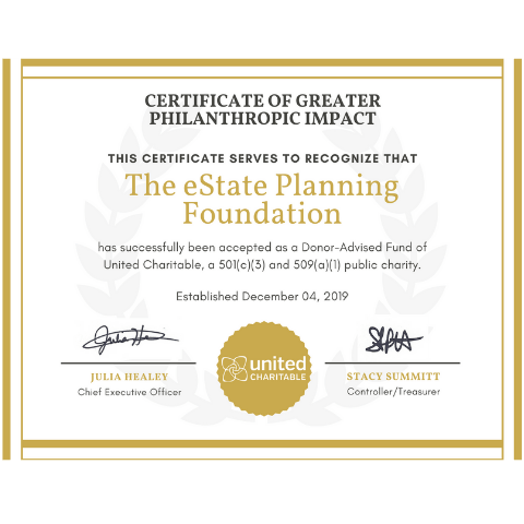 eState Planning Foundation Certificate